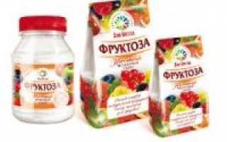 Гликемический индекс фруктозы (фруктового сахара)