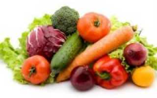 Гликемический индекс овощей: продукты с низким и высоким