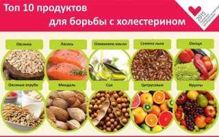 Природные статины для снижения холестерина: фрукты, ягоды, зелень