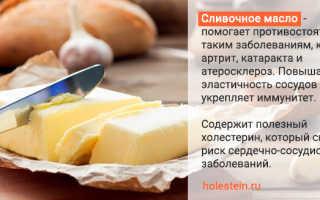 Холестерин в сливочном масле – полезные и вредные сочетания