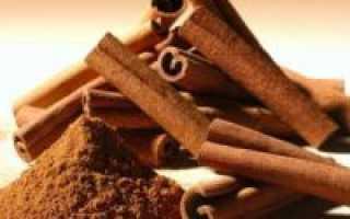 Корица при сахарном диабете: как применять и пить корицу, лечение