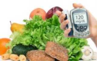 Диета при сахарном диабете 1 типа: меню питания для диабетика