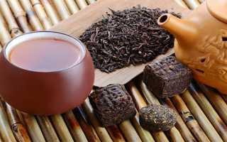 Чай пуэр повышает или понижает давление?