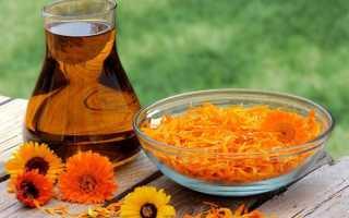 Календула от давления: рецепт настойки, как принимать